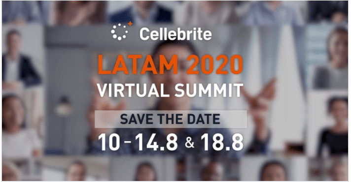 Cellebrite LATAM Virtual Summit 2020