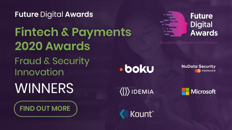 IDEMIA Ganador De Platino Del Premio Future Digital Awards 2020 Fintech & Payments